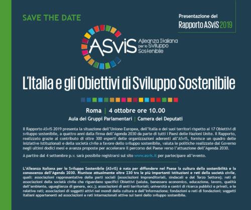 SaveTheDate_Rapporto ASviS 2019